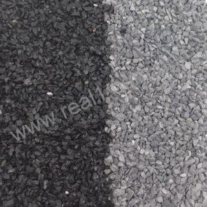 Мраморная крошка черная фото